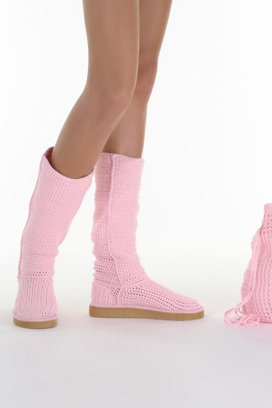 Женские сапоги Livs CLASSIC TALL BABY PINK