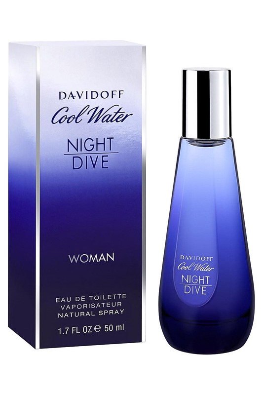 Cool Water Night Dive EDT,50мл Davidoff 46535104000