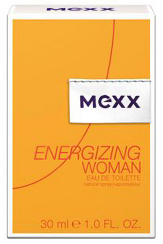Energizing Woman EDT 50 �� - Mexx  �������:  0737052679785  ������:  �����, ����, ����������� ����������  ��������:  Mexx Energizing Woman � ����� ��������� ���� 50 ��  ��������� ��������� ���� �� �������! ������ ������� ��� ������ �������, �������� ������� � ������������ ������ � �����! � ������� ���������� ������������ ������� ������� ����� � ������� ������ � ���������� ���������� ��������� ��������� ����� ���, ������� ����������� �������� ���������� �������� ������, ���������� �� ������� ����� �������� � ��������� ������, � ����� ����������� ������� ��������� �������. ������� ������ ������������ ������ ����� ���������. ������ ������ � 2013�.   ������ �������:  ��������  ������ ������������:  �������� ����� ��������������.  ���� ��������:  36 �������