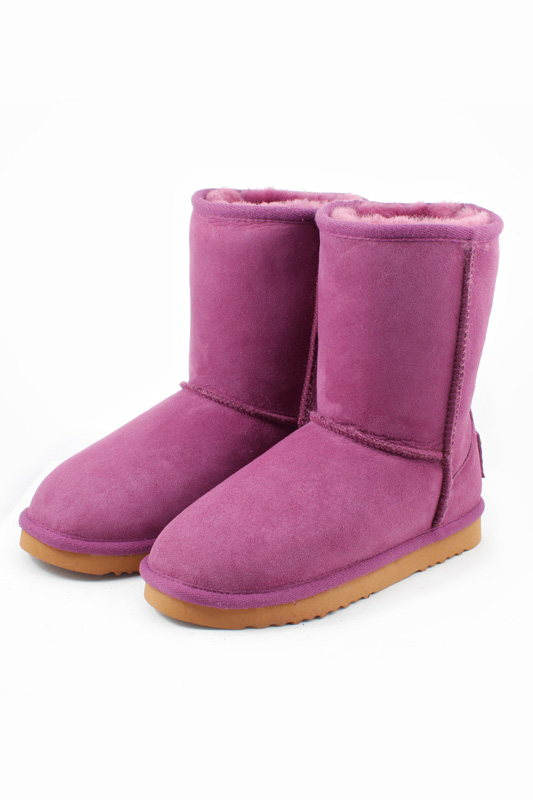 Женские угги Shepherd's Life SLW-CLS22_ROSE_PURPLE_CLASSIC SHORT