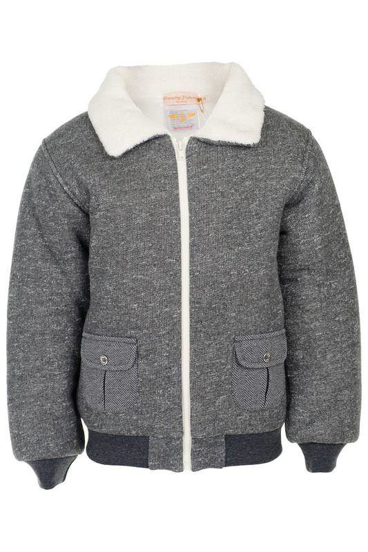 Куртка Frenchy Yummy 2035-WB-JACKET-RIKY-GRIS MOULINE