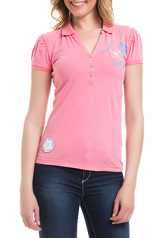 Футболка U.S. Polo Assn.Футболка<br><br>Размер INT: 42<br>Размер RU: 48<br>brand_id: 43575<br>category_str_var: Odezhda-zhenskaia-polo<br>category_url: Odezhda/zhenskaia/polo<br>is_new: 0<br>param_1: None<br>param_2: None<br>season_autumn: 0<br>season_spring: 0<br>season_summer: 1<br>season_winter: 0<br>Возраст: Взрослый<br>Пол: Женский<br>Стиль: None<br>Тэг: None<br>Цвет: Розовый<br>custom_param_1: None<br>custom_param_2: None