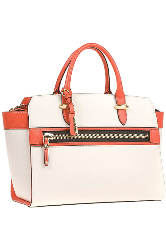 Сумка Eleganzza Z-1410106 WHITE/RED