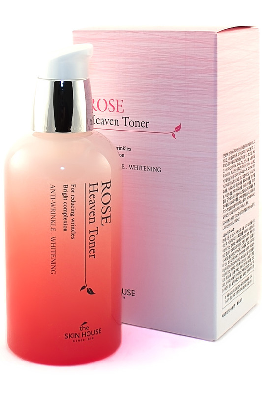 Тоник ROSE HEAVEN 130 мл The Skin House Тоник ROSE HEAVEN 130 мл тоник secret key rose floral softening toner объем 248 мл