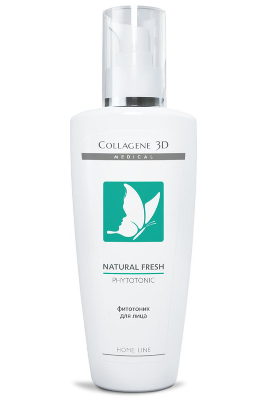 Фитотоник Natural fresh 250 мл MEDICAL COLLAGENE 3D
