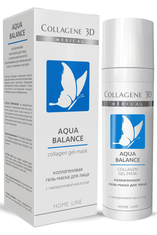 Гель-маска Aqua Balance 30 мл MEDICAL COLLAGENE 3D Гель-маска Aqua Balance 30 мл гель medical collagene 3d easy peel glicolic peeling 5
