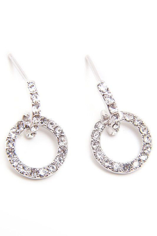 Серьги Asavi Jewel1,8 х 1,1 см
