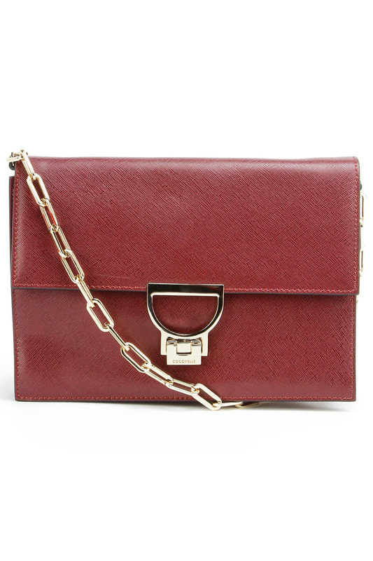 Сумка-клатч Coccinelle VO0 12 01 01 281 WINE RED SAFFIANO