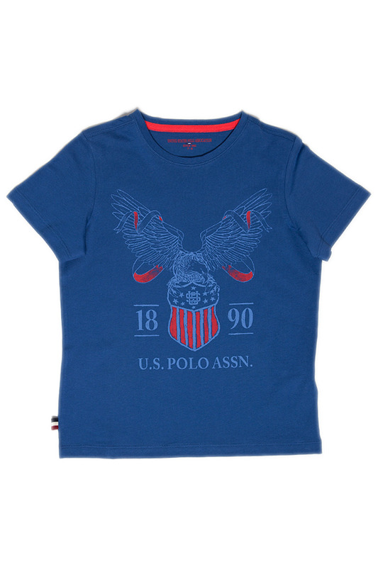 Футболка U.S. Polo Assn.Футболка<br><br>Размер INT: 6-7<br>Размер RU: 116-122<br>brand_id: 43575<br>category_str_var: Odezhda-odezhda-dlja-malchikov-futbolki<br>category_url: Odezhda/odezhda-dlja-malchikov/futbolki<br>is_new: 0<br>param_1: None<br>param_2: None<br>season_autumn: 1<br>season_spring: 1<br>season_summer: 1<br>season_winter: 1<br>Возраст: Детский<br>Пол: Мужской<br>Стиль: None<br>Тэг: None<br>Цвет: Синий<br>custom_param_1: None<br>custom_param_2: None