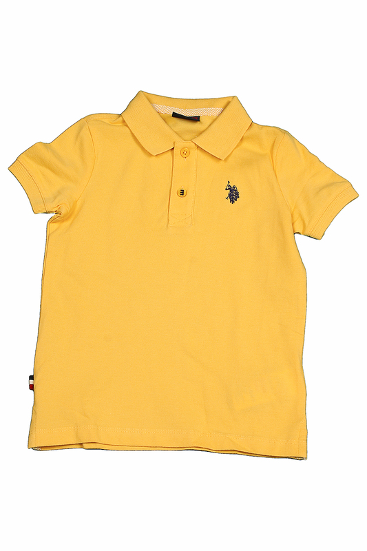 Футболка U.S. Polo Assn.Футболка<br><br>Размер INT: 8-9<br>Размер RU: 128-134<br>brand_id: 43575<br>category_str_var: Odezhda-odezhda-dlja-malchikov-polo<br>category_url: Odezhda/odezhda-dlja-malchikov/polo<br>is_new: 0<br>param_1: None<br>param_2: None<br>season_autumn: 0<br>season_spring: 0<br>season_summer: 0<br>season_winter: 0<br>Возраст: Детский<br>Пол: Мужской<br>Стиль: None<br>Тэг: None<br>Цвет: Sr0135 желтый<br>custom_param_1: None<br>custom_param_2: None