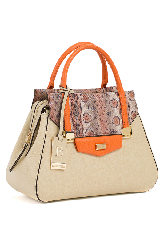 Сумка Eleganzza Z-1498319 BEIGE/ORANGE