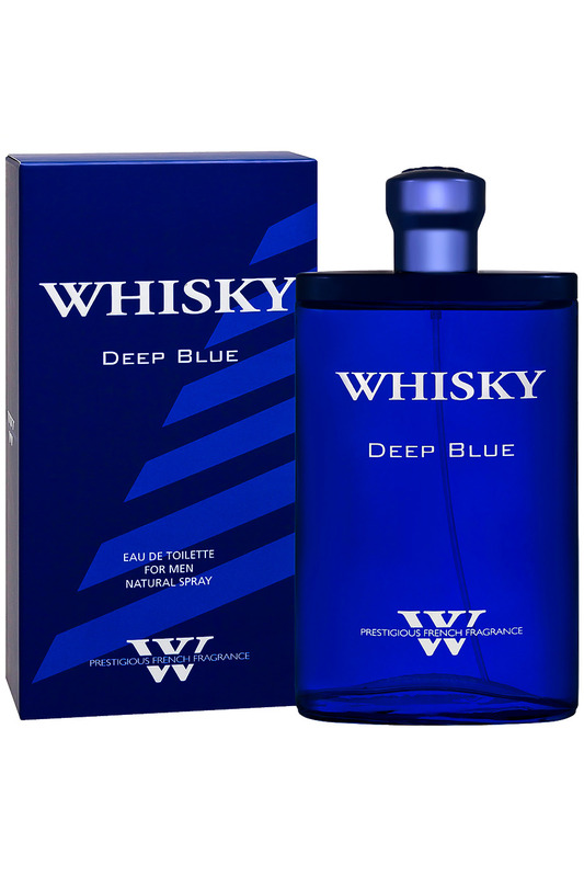 Whisky Premium Deep blue 90 мл PARFUMS EVAFLOR
