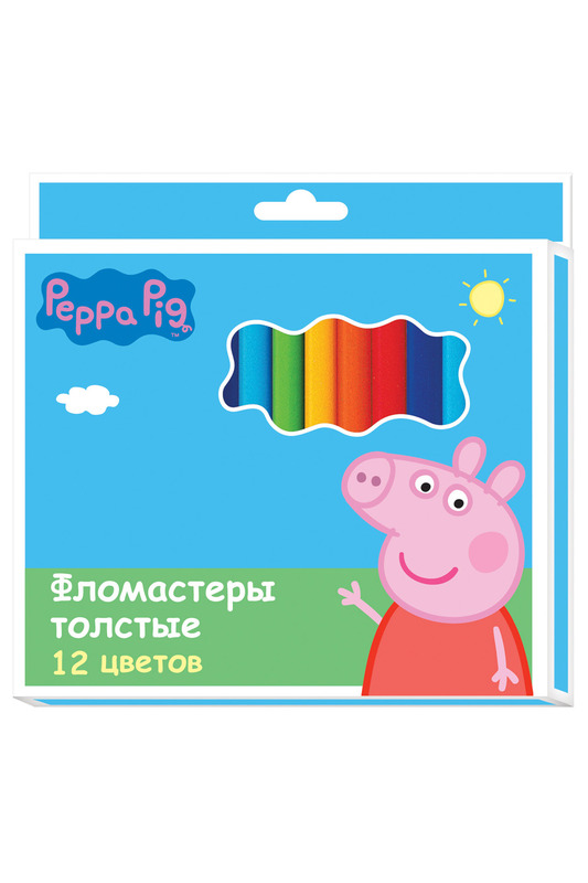 Фломастеры 12 цветов Peppa PigФломастеры 12 цветов<br><br>brand_id: 36920<br>category_str_var: Snova-v-shkolu-shkolnye-tovary<br>category_url: Snova-v-shkolu/shkolnye-tovary<br>is_new: 0<br>param_1: None<br>param_2: None<br>season_autumn: 1<br>season_spring: 1<br>season_summer: 1<br>season_winter: 1<br>Возраст: Детский<br>Пол: Унисекс<br>Стиль: None<br>Тэг: None<br>Цвет: None<br>custom_param_1: None<br>custom_param_2: None