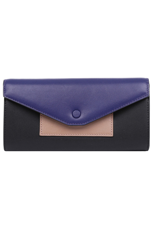 Кошелек Leo Ventoni L330969-NERO/BLUE/TAN