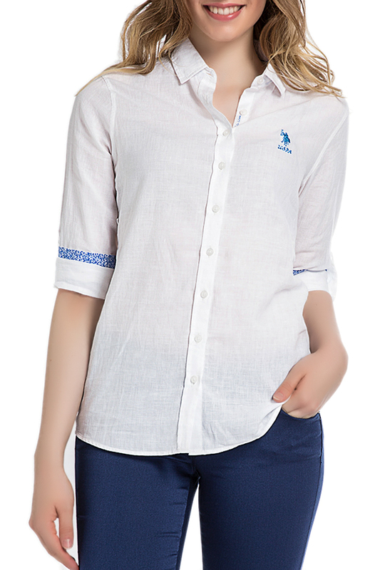 Рубашка U.S. Polo Assn.Рубашка<br><br>Размер INT: 36<br>Размер RU: 36<br>brand_id: 43575<br>category_str_var: Odezhda-zhenskaia-rubashki<br>category_url: Odezhda/zhenskaia/rubashki<br>is_new: 0<br>param_1: None<br>param_2: None<br>season_autumn: 1<br>season_spring: 1<br>season_summer: 1<br>season_winter: 1<br>Возраст: Взрослый<br>Пол: Женский<br>Стиль: None<br>Тэг: Рубашки для офиса<br>Цвет: Белый<br>custom_param_1: None<br>custom_param_2: None