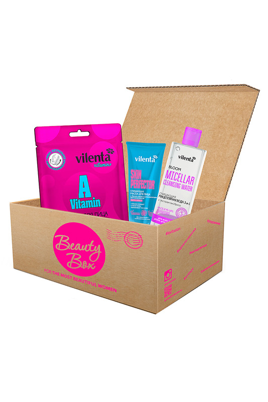 Набор Happy Skin Beauty Box Vilenta Набор Happy Skin Beauty Box подарочный набор 7 days beauty mix vilenta