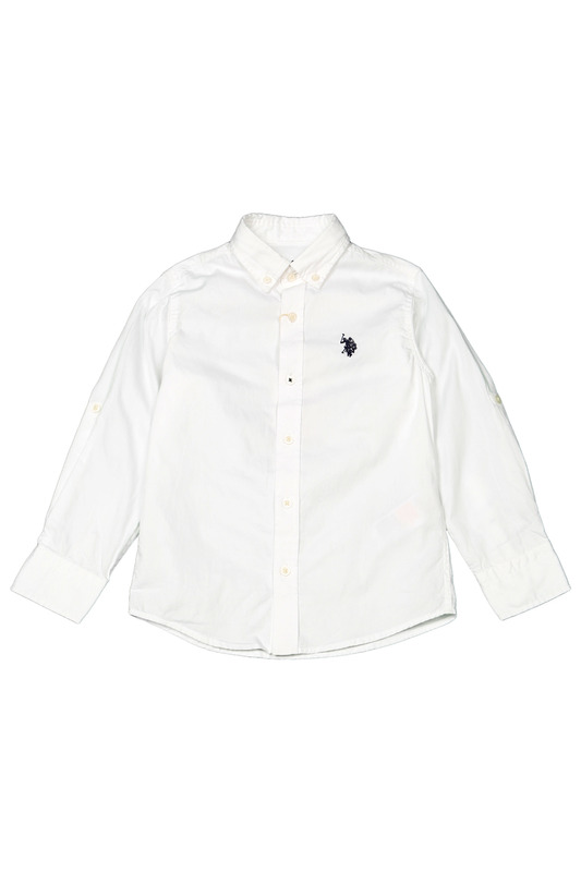 Сорочка U.S. Polo Assn.Сорочка<br><br>Размер INT: 4-5<br>Размер RU: 4-5<br>brand_id: 43575<br>category_str_var: Odezhda-odezhda-dlja-malchikov-sorochki<br>category_url: Odezhda/odezhda-dlja-malchikov/sorochki<br>is_new: 0<br>param_1: None<br>param_2: None<br>season_autumn: 1<br>season_spring: 1<br>season_summer: 1<br>season_winter: 1<br>Возраст: Детский<br>Пол: Мужской<br>Стиль: None<br>Тэг: None<br>Цвет: Белый<br>custom_param_1: None<br>custom_param_2: None