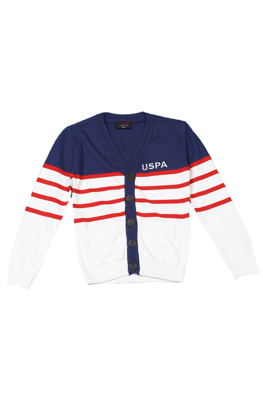 Кардиган U.S. Polo Assn. G083SZ0TH0BRO
