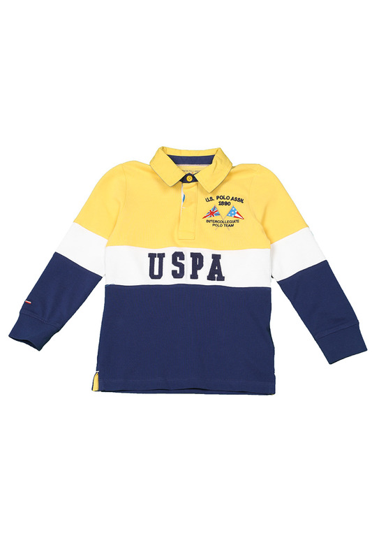 Футболка-поло U.S. Polo Assn.Футболка-поло<br><br>Размер INT: 7-8<br>Размер RU: 122-128<br>brand_id: 43575<br>category_str_var: Odezhda-odezhda-dlja-malchikov-polo<br>category_url: Odezhda/odezhda-dlja-malchikov/polo<br>is_new: 0<br>param_1: None<br>param_2: None<br>season_autumn: 1<br>season_spring: 1<br>season_summer: 1<br>season_winter: 1<br>Возраст: Детский<br>Пол: Мужской<br>Стиль: None<br>Тэг: None<br>Цвет: Синий<br>custom_param_1: None<br>custom_param_2: None