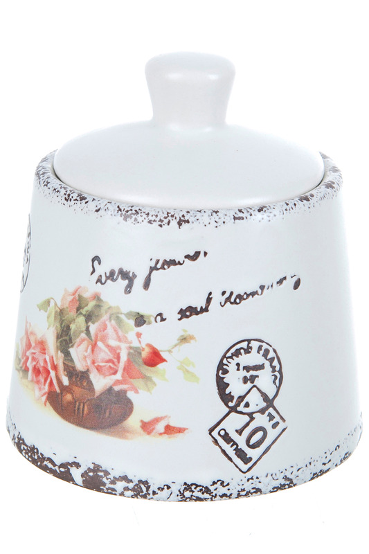 Сахарница 200 мл ENS GROUP Сахарница 200 мл сахарница tea time collection elff ceramics
