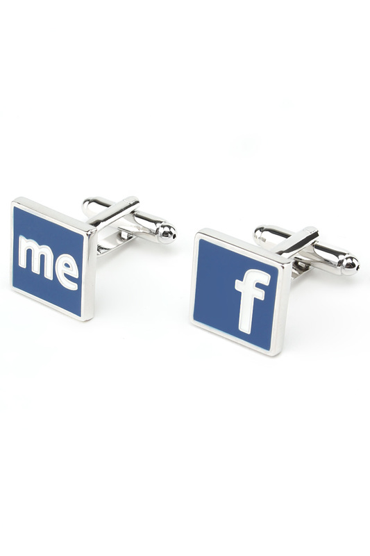Запонки фейсбук facebook Churchill accessories