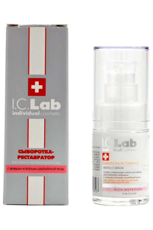 Сыворотка-реставратор I.C.LAB INDIVIDUAL COSMETIC Сыворотка-реставратор sport sprint m deo 200 ml hot ice sport
