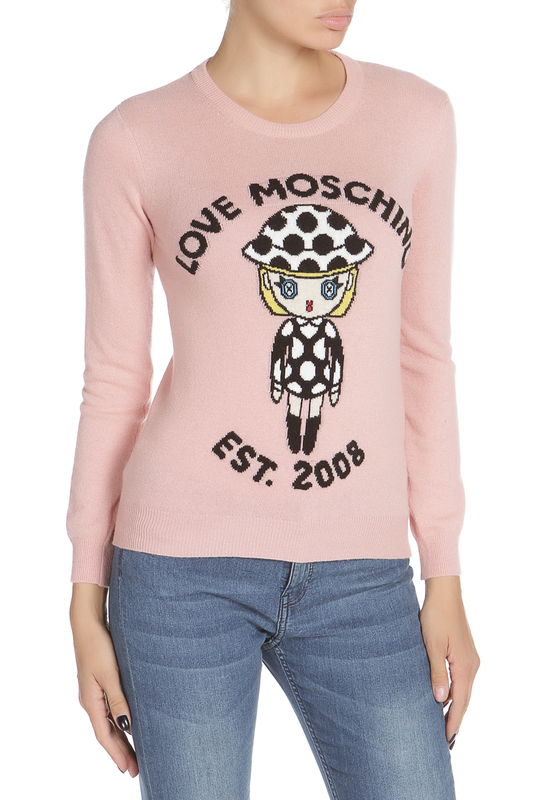 Джемпер Love Moschino Джемпер джемпер moschino джемпер