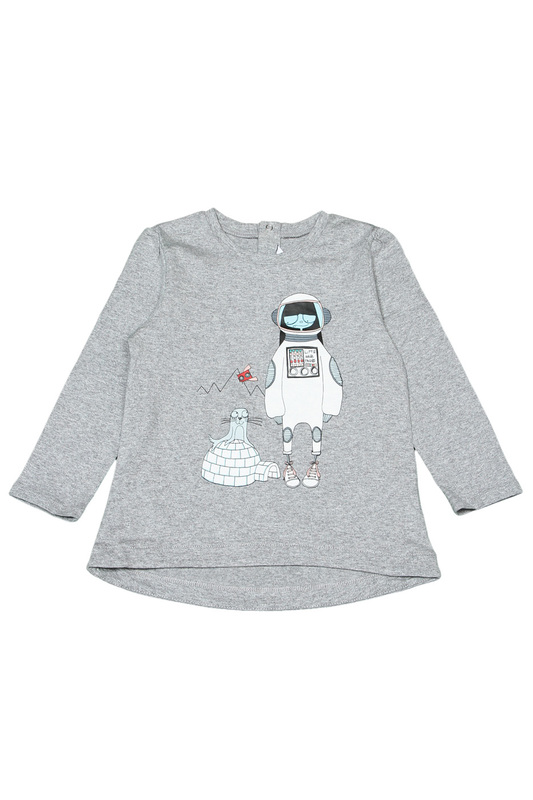 Футболка Little Marc Jacobs Футболка shirt franklin