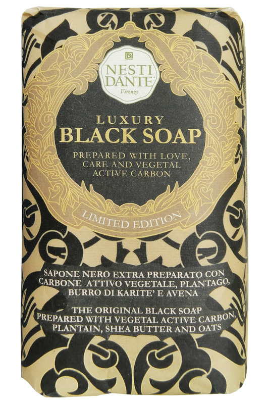 Мыло luxury black soap, 250г Nesti Dante Мыло luxury black soap, 250г