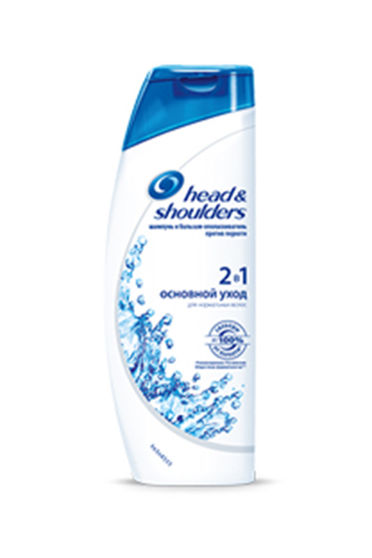 Шампунь 2в1 против перхоти Осн Head & Shoulders Шампунь 2в1 против перхоти Осн шампунь против перхоти против head