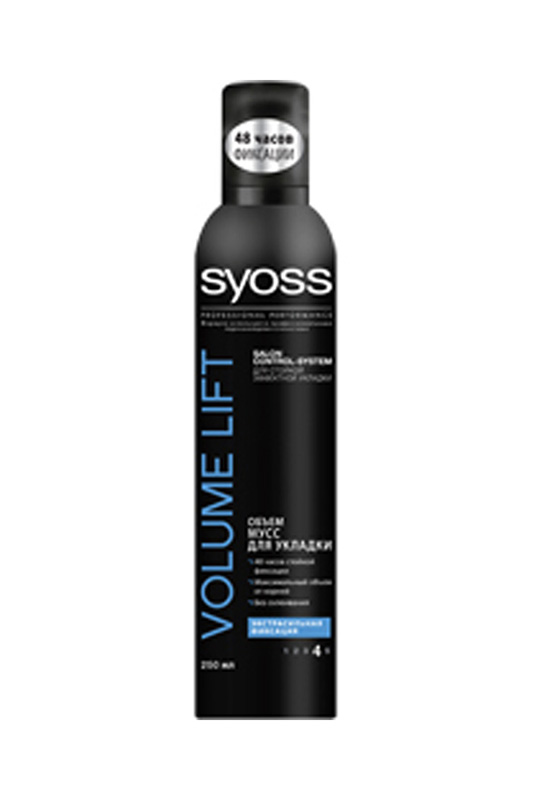 Мусс для укладки Volume Lift, SYOSS Мусс для укладки Volume Lift, тюль 400x290 naturel тюль 400x290