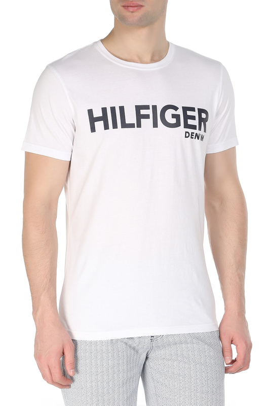 Футболка Tommy Hilfiger Denim Футболка футболка tommy hilfiger denim tommy hilfiger denim to013ewufj70