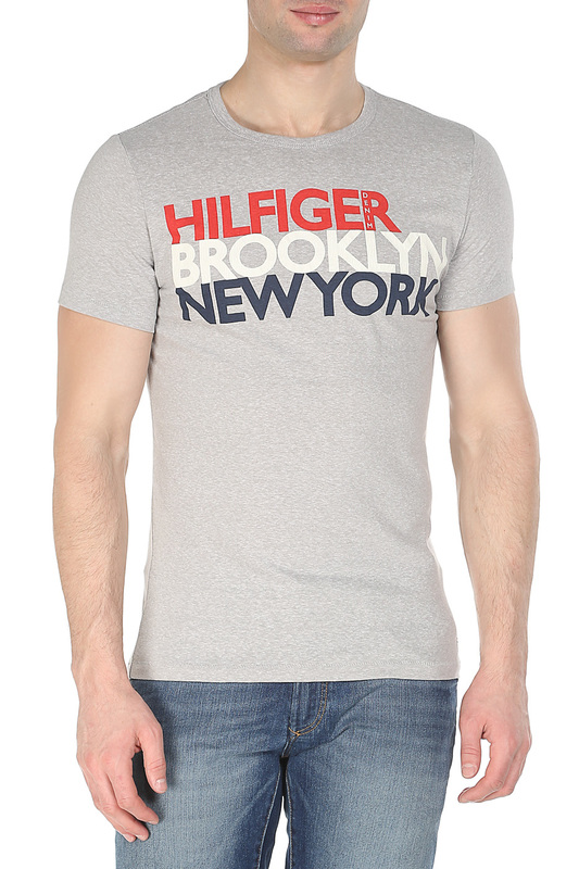 Футболка Tommy Hilfiger Denim Футболка футболка tommy hilfiger denim tommy hilfiger denim to013emtoz63