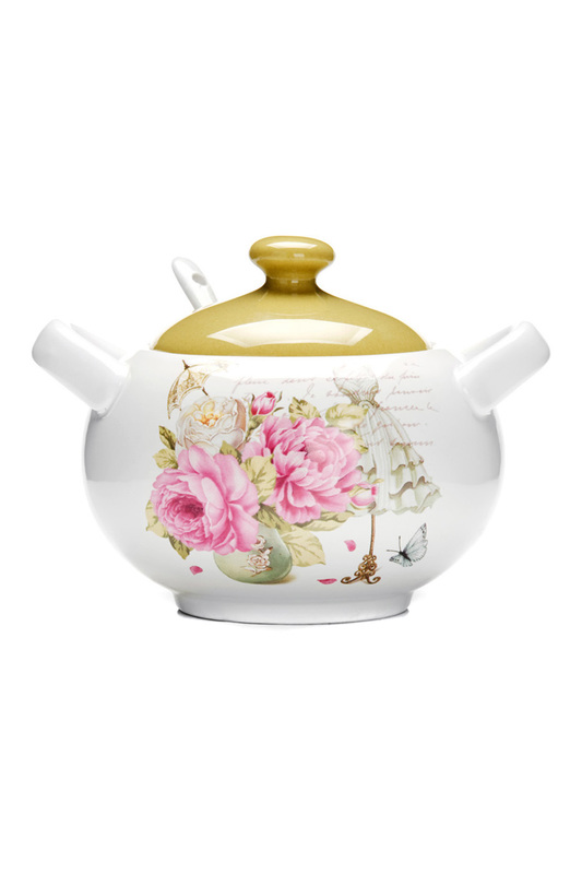 Сахарница 375 мл LORAINE Сахарница 375 мл сахарница tea time collection elff ceramics