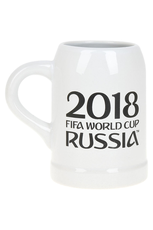Кружка FIFA 2018 World Cup Russia ТМ, 500 мл FIFA 2018 Кружка FIFA 2018 World Cup Russia ТМ, 500 мл no brand брелок 2018 fifa world cup russia™ забивака удар 3d