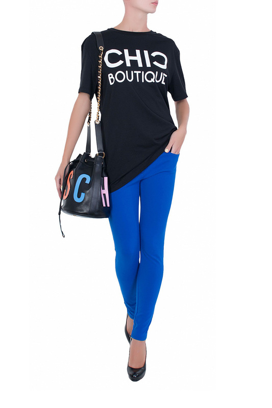 Брюки BOUTIQUE MOSCHINO Брюки джемпер boutique moschino boutique moschino bo036ewdreb5