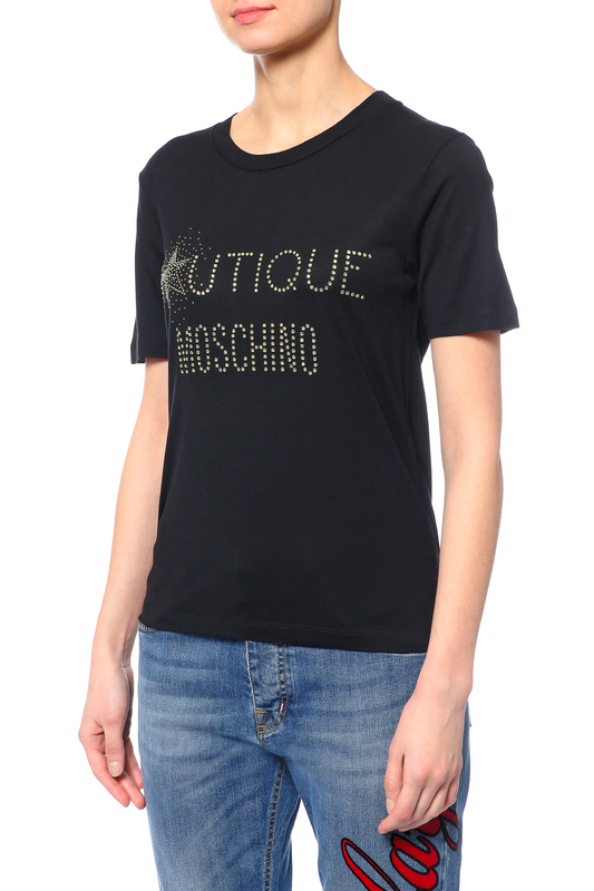 Футболка MOSCHINO BOUTIQUE Футболка джемпер boutique moschino boutique moschino bo036ewdreb5