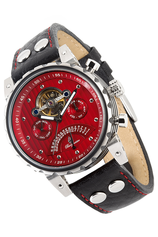 automatic watch Burgmeister automatic watch leisure hollow skull men automatic mechanical watch