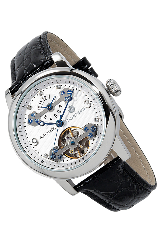 AUTOMATIC WATCH Reichenbach AUTOMATIC WATCH daybird 3779 stainless steel automatic mechanical men s analog wrist watch silver white blue