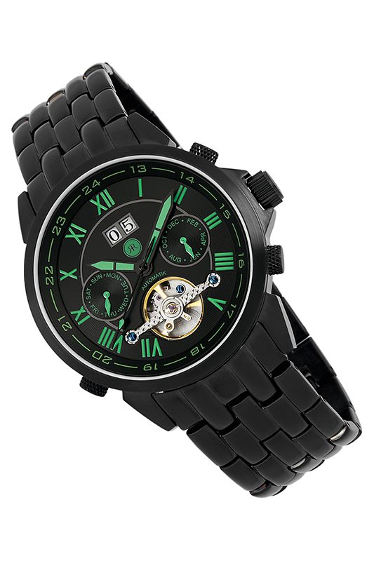 AUTOMATIC WATCH Reichenbach AUTOMATIC WATCH leisure hollow skull men automatic mechanical watch