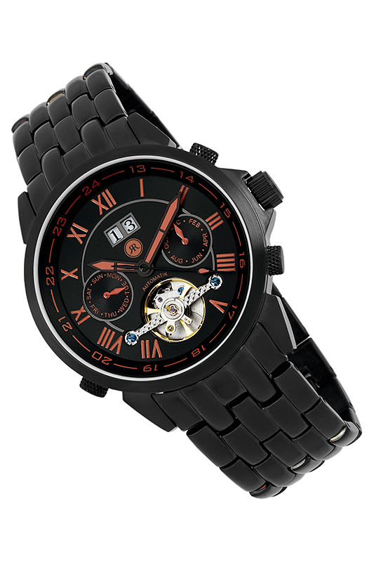 automatic watch Reichenbachautomatic watch<br><br>Возраст: Взрослый<br>Пол: Мужской<br>Цвет: Black