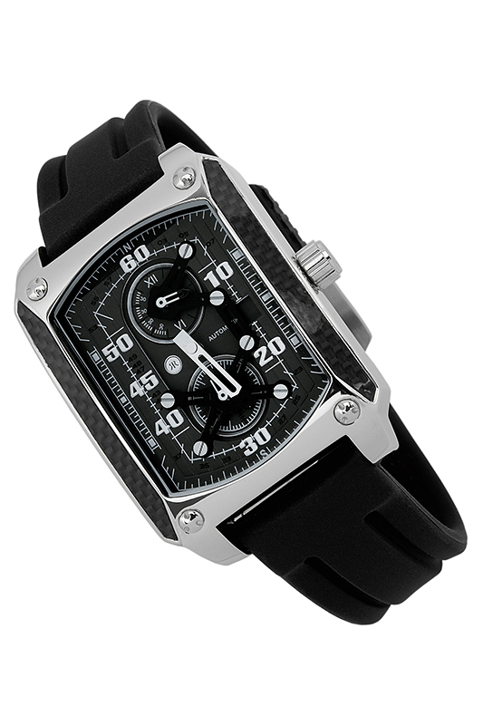 automatic watch Reichenbachautomatic watch<br><br>Возраст: Взрослый<br>Пол: Мужской<br>Цвет: Grey and black