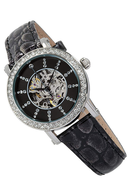 automatic watch Reichenbachautomatic watch<br><br>Возраст: Взрослый<br>Пол: Женский<br>Цвет: Black