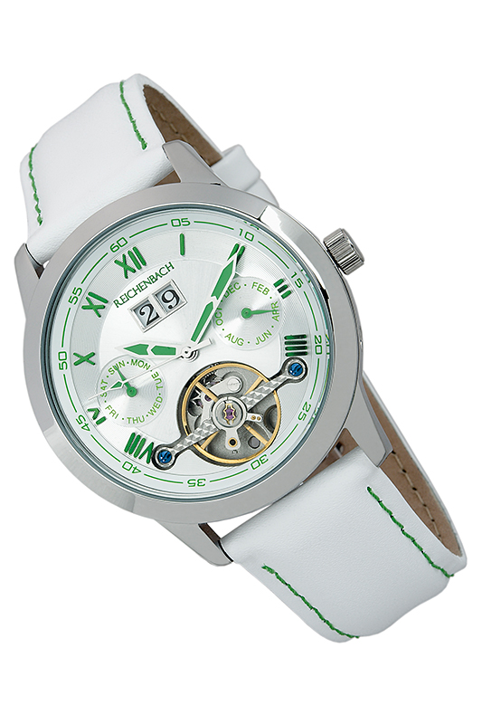 Фото - AUTOMATIC WATCH Reichenbach AUTOMATIC WATCH carnival mens business fluoresecent luminous automatic mechanical watch wristwatch silver bezel white dial