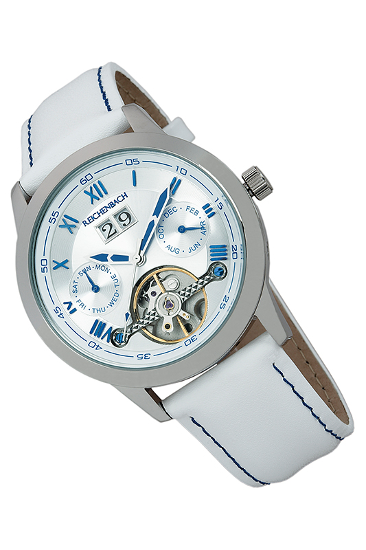 automatic watch Reichenbachautomatic watch<br><br>Возраст: Взрослый<br>Пол: Женский<br>Цвет: Silver and white