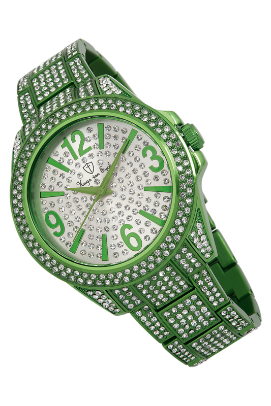 Фото - quartz watch Hugo von Eyck цвет green and silver