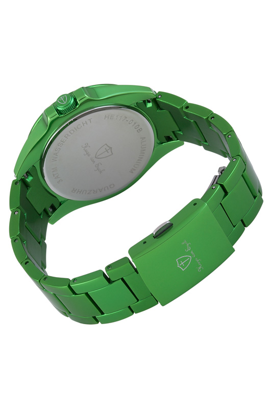 Фото 2 - quartz watch Hugo von Eyck цвет green and silver
