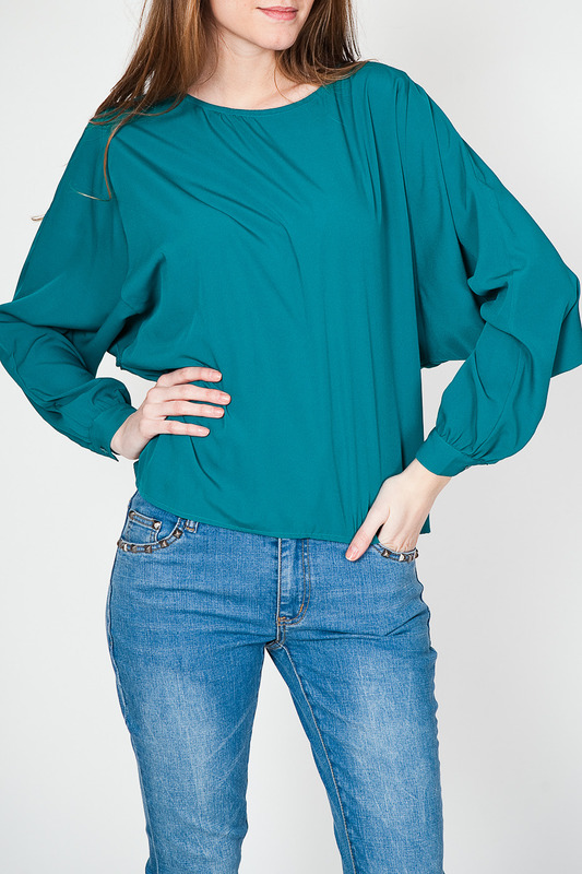 Блуза Tantra BLOUSE2536A_GREEN