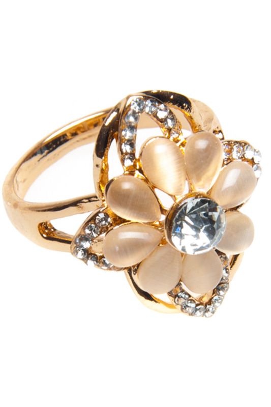 Купить Ring Luisa Vannini Jewelry, Gold and multicolor