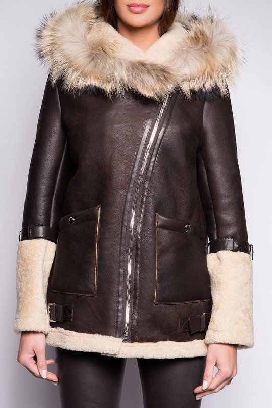 sheepskin coat John&Yoko sheepskin coat блузы limonti блузы вечерние